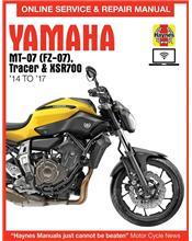 Yamaha MT-07 (FZ-07), Tracer & XSR700 2014 - 2017
