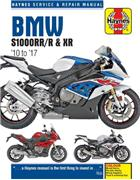 BMW S1000RR/R & XR 2010 - 2017 Haynes Owners Service & Repair Manual
