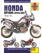 Honda CRF1000L Africa Twin 2016 - 2019 Haynes Owners Service & Repair Manual