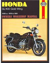 Honda GL1100 Gold Wing 1979 - 1981 Haynes Owners Service & Repair Manual