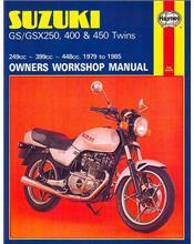 Suzuki GS / GSX250, 400 & 450 Twins 1979 - 1985
