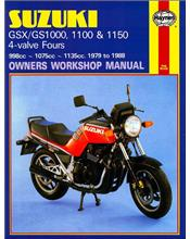 Suzuki Katana GSX1000, GSX1100, GS1000, GS1100 & GS1150 1979 - 1988