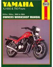 Yamaha XJ650 & 750 Fours 1980 - 1984 Haynes Owners Service & Repair Manual