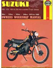 Suzuki TS100, TS125, TS185, TS250 Air-cooled Trail Bikes 1979 - 1989