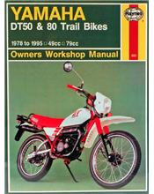 Yamaha DT50 & 80 Trail Bikes 1978 - 1995 Haynes Owners Service & Repair Manual