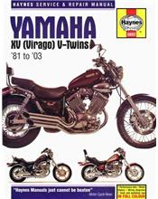 Yamaha XV (Virago) V - Twins 1981 - 2003 Haynes Owners Service & Repair Manual