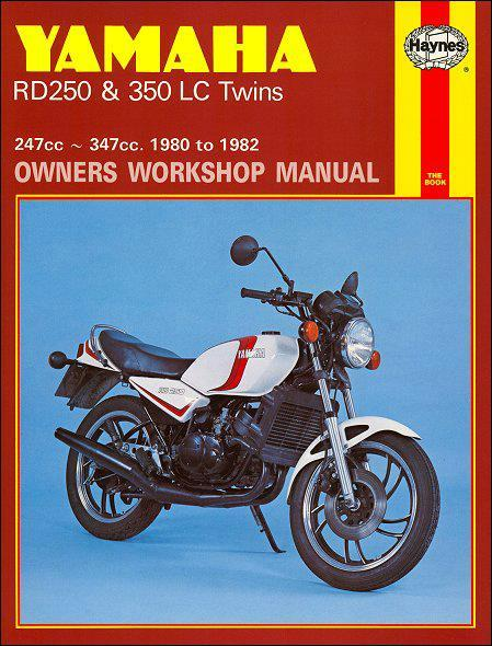 Yamaha RD250, RD350 Liquid-Cooled Twins 1980 - 1982 - Front Cover