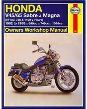 Honda V45, V65 Sabre, Magna 1982 - 1988 Haynes Owners Service & Repair Manual