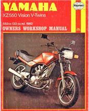 Yamaha XZ550 Vision V-Twins 1982 - 1985 Haynes Owners Service & Repair Manual