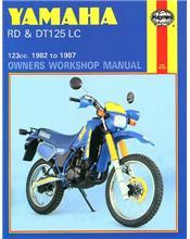Yamaha RD & DT125LC 1982 -1987 Haynes Owners Service & Repair Manual