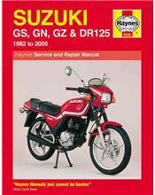 Suzuki GS125, GS125ES, GN125, GZ125 Marauder, DR125S 1982 - 2005