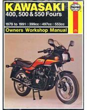 Kawasaki Z400, ZR400, ZX400, Z500, KZ500, KZ550, GPz550 & ZX550 1979 - 1991