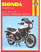 Honda CBX550 Four 1982 - 1986 Haynes Owners Service & Repair Manual