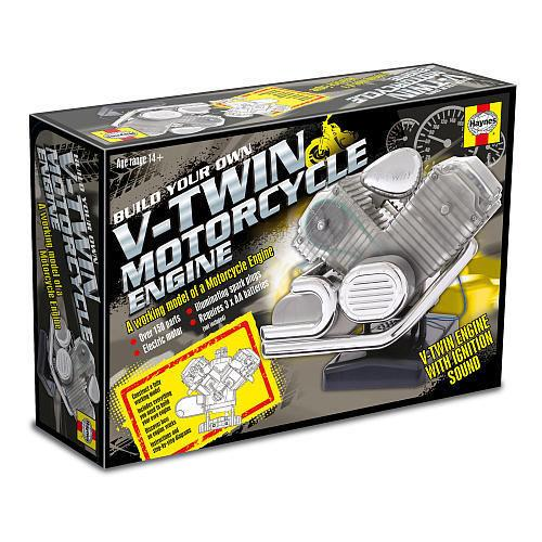 V-Twin Motorcycle Engine Model Kit - Front Cover