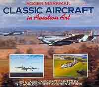 Classic Aircraft in Aviation Art - Front Cover