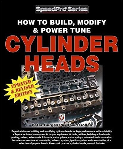 How to Build, Modify & Power Tune Cylinder Heads - Front Cover