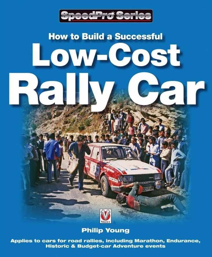 How To Build A Successful Low Cost Rally Car - Front Cover