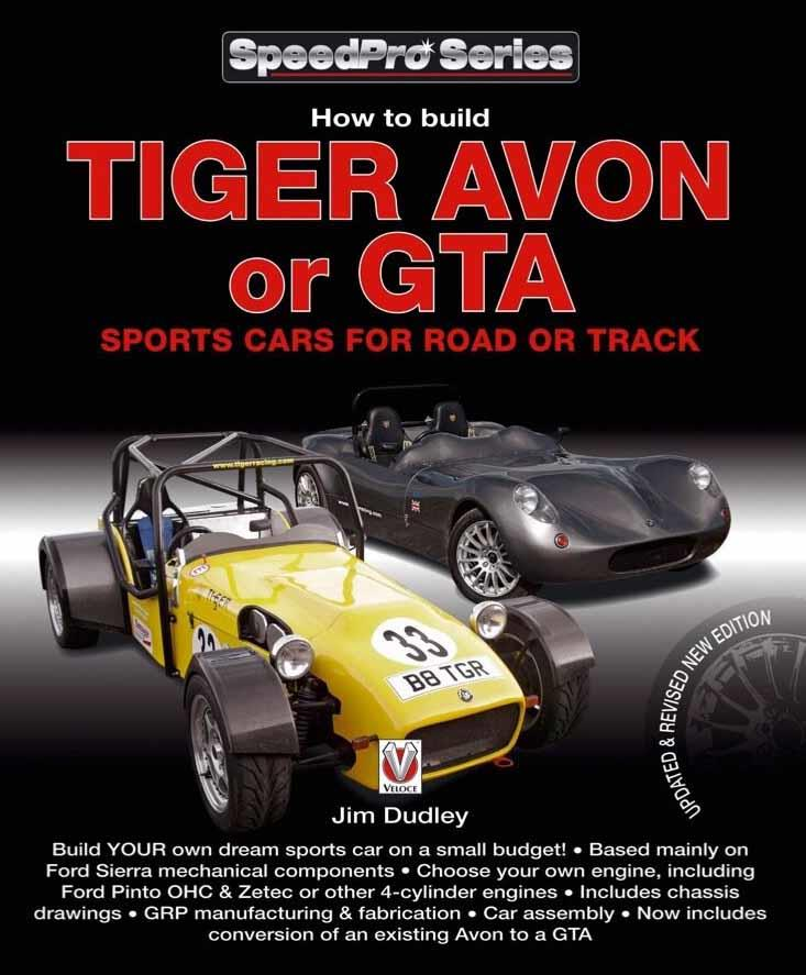 How to Build Tiger Avon or GTA Sports Cars for Road or Track - Front Cover