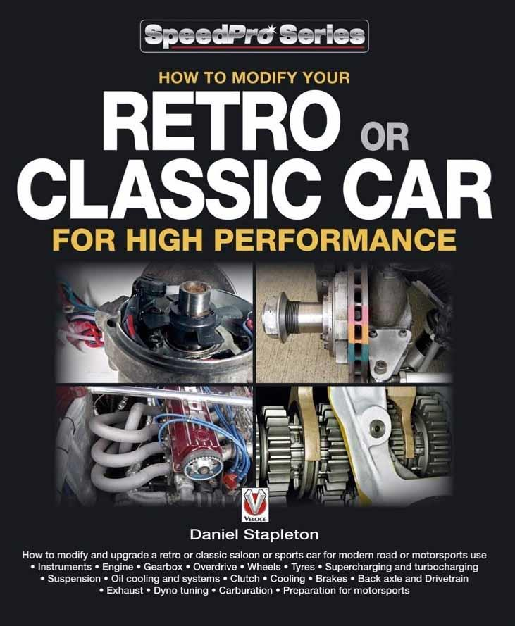 How to Modify Your Retro or Classic Car for High Performance - Front Cover