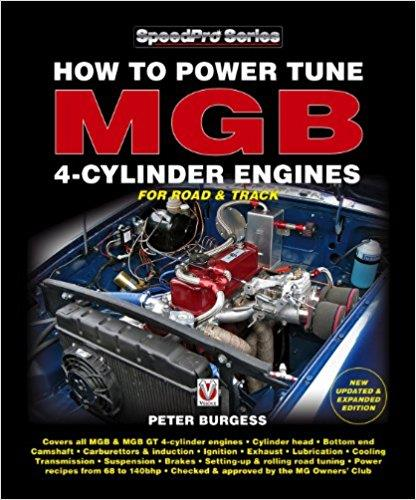 How to Power Tune MGB 4-Cylinder Engines for Road & Track - Front Cover