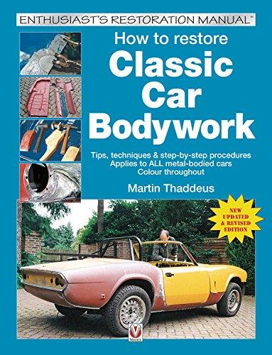 How to restore Classic Car Bodywork - Front Cover