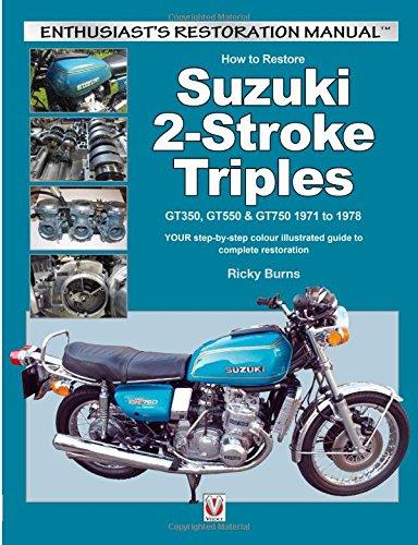 How to Restore Suzuki 2-Stroke Triples - Front Cover