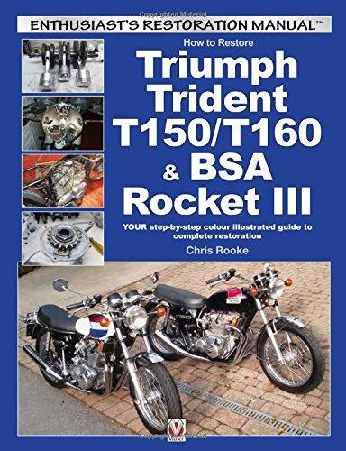 How to Restore Triumph Trident T150/T160 & BSA Rocket III - Front Cover
