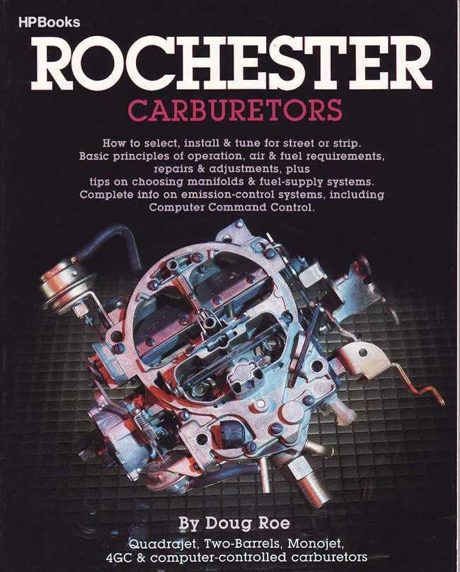 Rochester Carburetors - Front Cover