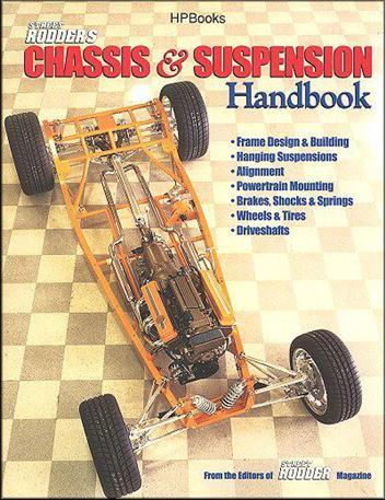 Street Rodder's Chassis & Suspension Handbook - Front Cover