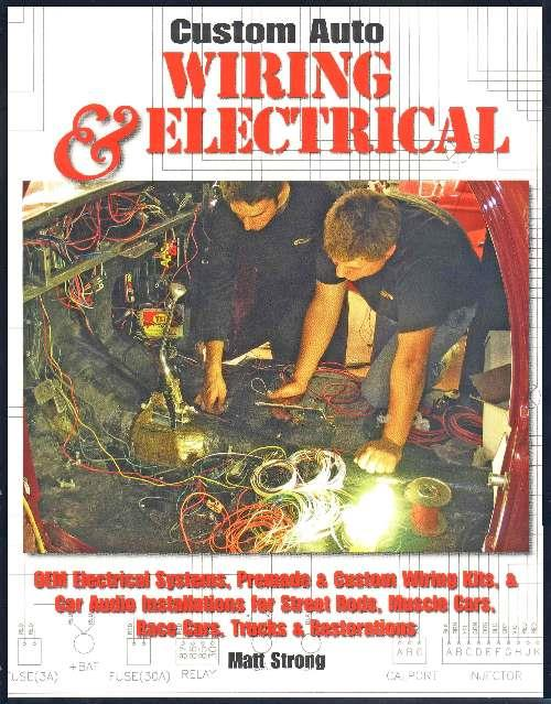 Custom Auto Wiring & Electrical - Front Cover