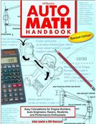 Auto Math Handbook : Easy Calculations for Engine Builders, Racers, Students