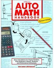 Auto Math Handbook: Easy Calculations for Engine Builders, Racers, Students