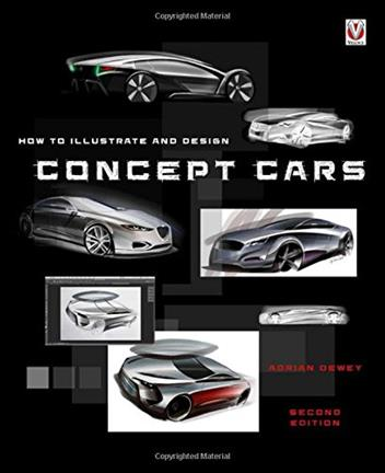 How to illustrate and design Concept Cars - Front Cover