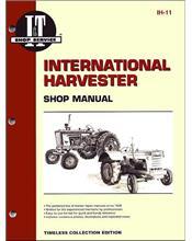 International Harvester 1956 - 1958 Farm Tractor Owners Service & Repair Manual