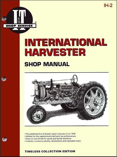 International Harvester Farm 1932 - 1940 Tractor Owners Service & Repair Manual - Front Cover