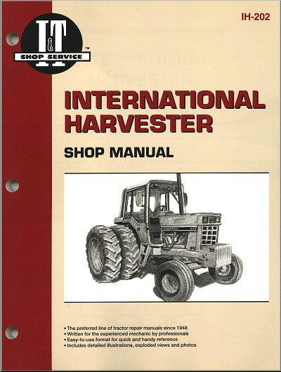 International Harvester 1965 - 1984 Farm Tractor Owners Service & Repair Manual - Front Cover