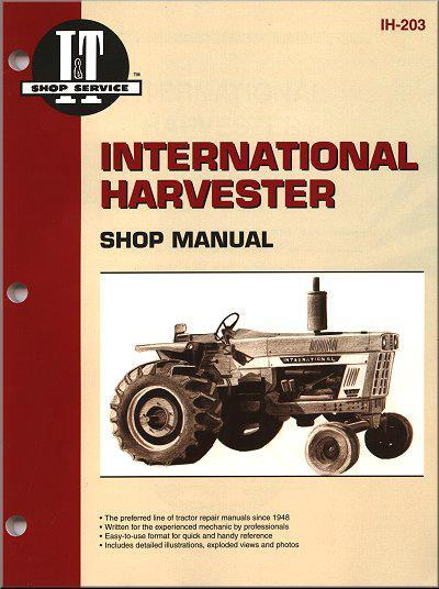 International Harvester Gas & Diesel Farm Tractor Owners Service & Repair Manual - Front Cover