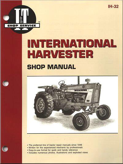 International Harvester 1963 - 1983 Farm Tractor Owners Service & Repair Manual