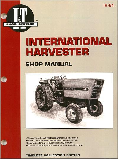 International Harvester 1981 - 1985 Farm Tractor Owners Service & Repair Manual - Front Cover