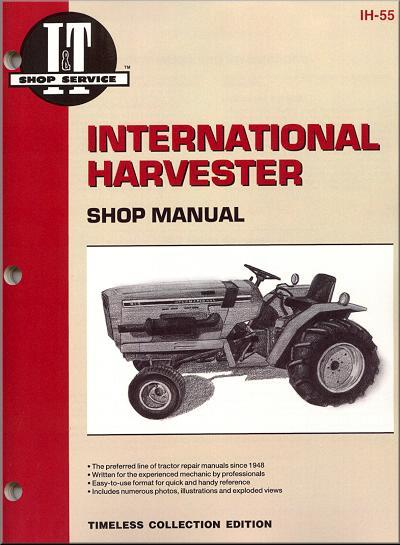 International Harvester 1982 - 1984 Farm Tractor Owners Service & Repair Manual