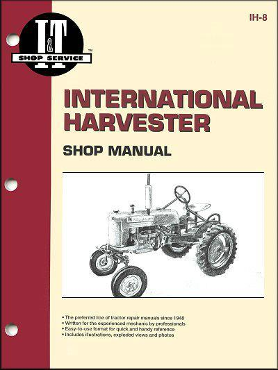 International Harvester Farm Tractor Owners Service & Repair Manual - Front Cover