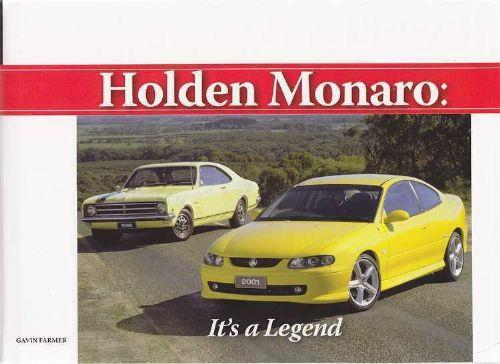 Holden Monaro : Its A Legend - Front Cover