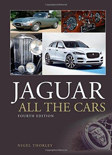 Jaguar : All the Cars - Front Cover