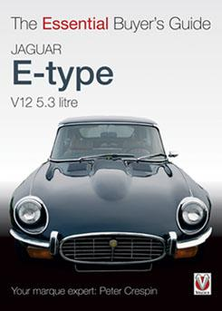 Jaguar E-type V12 5.3 litre : The Essential Buyers Guide - Front Cover