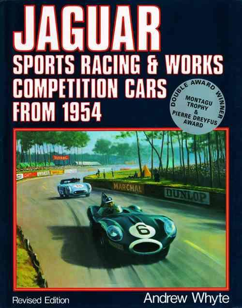 Jaguar: Sports Racing And Works Competition Cars From 1954 - Front Cover