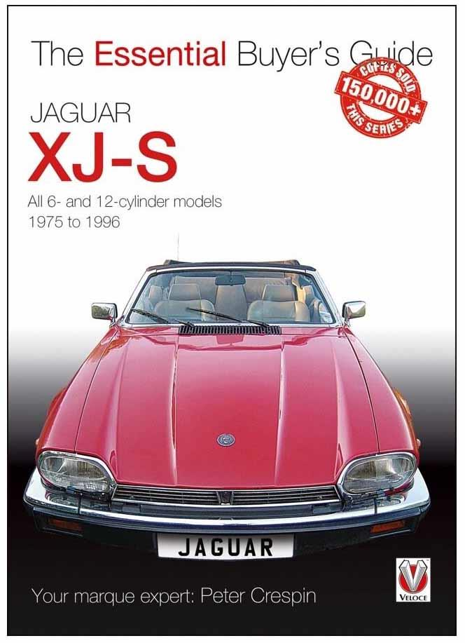 Jaguar XJ-S 1975 - 1996 : The Essential Buyers Guide - Front Cover