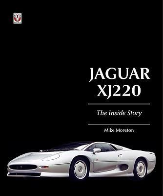Jaguar XJ 220 : The Inside Story - Front Cover