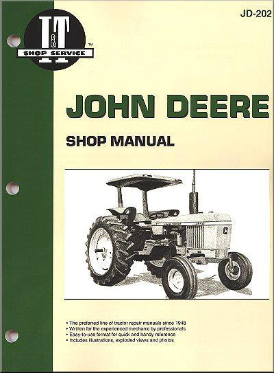 John Deere 1968 - 1983 Farm Tractor Owners Service & Repair Manual - Front Cover