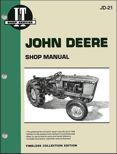 John Deere 1960 - 1965 Farm Tractor Owners Service & Repair Manual - Front Cover
