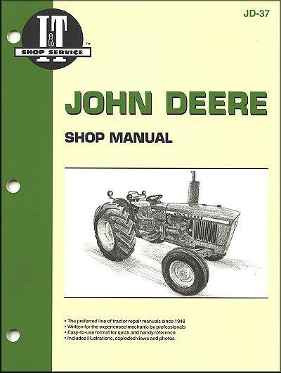 John Deere Farm Tractor Owners Service & Repair Manual - Front Cover